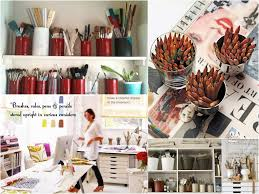 organizing the art studio live simply by annie