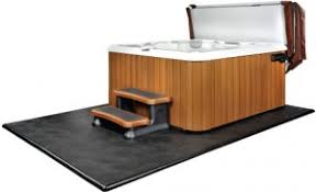 what type of base do you need for a tub spa installation