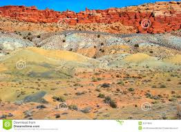 multicolored painted sand dunes utah stock photo image 32074654