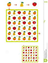 fun brain games for kids stock illustration image 72586189