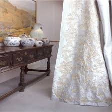 White Taffeta Curtains Faupel Readymade Curtains