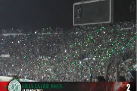 best fans in the world morocco s raja of casablanca fans are world s second best fans of