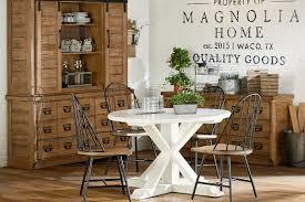 magnolia farms dining table furniture gorgeous dining kitchen magnolia home round farmhouse
