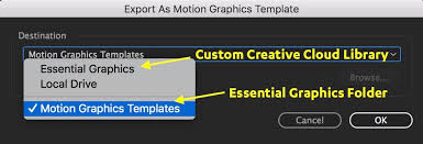 create titles with the new type tool and essential graphics panel