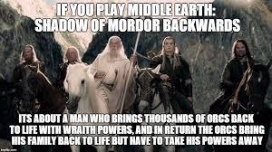 Mordor Meme - battle for middle earth imgflip