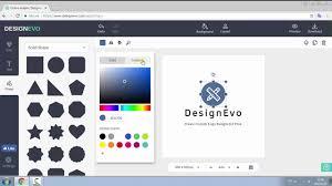 design a custom logo free online designevo tutorial create custom logo designs online for free youtube