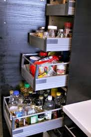 floor to ceiling pantry with pull out shelves from ikea