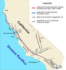 San Francisco On A Map by File San Andreas Fault Map It Svg Wikimedia Commons