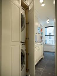 Washer And Dryer Cabinet Custom Cabinet For Washer Dryer Traditional Laundry Room New