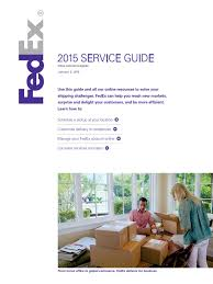 fedex delivery thanksgiving service guide 2015 fed ex cargo