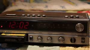 Jcpenney Clocks 8 Track Clock Radio Youtube