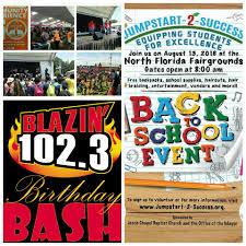 blazin 1023 birthday bash kick off for back to wwld fm