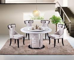 round marble dining set fortune furniture