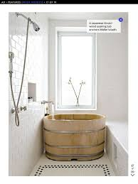 extra deep japanese soaking tub for small bathroom with bronze