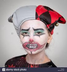 clown face stock photos u0026 clown face stock images alamy