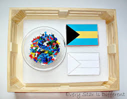 Flag Making Activity North America Unit With Free Printables Every Star Is Different