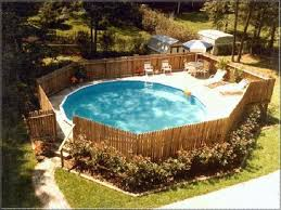 image result for https fence tight around above ground pool