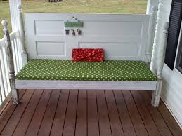 redneck martha stewart daybed for porch made out old doors and