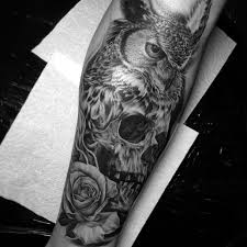 owl skull elaxsir