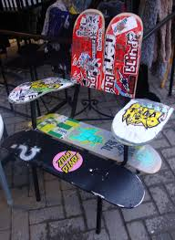 fascinating broken skateboard chair pics decoration ideas tikspor new stockist shaboutique brighton skateboard chair