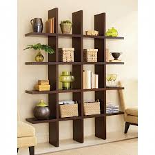 furniture cool home furniture design of brown wooden wall shelf