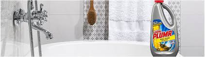 Clogged Bathtub Standing Water How To Unclog A Bathtub Liquid Plumr