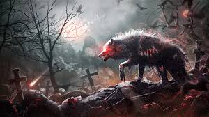 photos wolves graveyard gothic fantasy blood by mr ripley 2048x1152