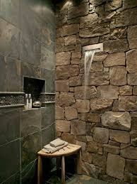 Spa Look Bathrooms - stone shower walls an instant trick to transform a u0027flat u0027 shower