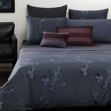 Design Calvin Klein Bedding Ideas Compelling Calvin Klein Nocturnal Blossom Cotton Bedding