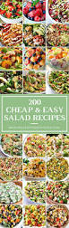 Easy Salad Recipe by 200 Cheap And Easy Salad Recipes Prudent Penny Pincher
