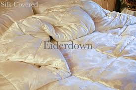 Covered Duvet Eiderdown Comforter Queen Size Plumeria Bay