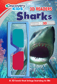 sharks discovery kids discovery 3d readers parragon books