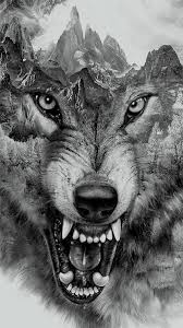 wolf collage for t shirt printing by eddie yau via behance wolves