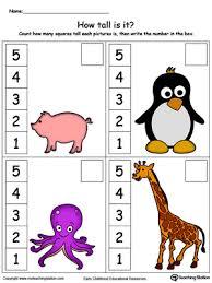 kindergarten measurement printable worksheets myteachingstation com
