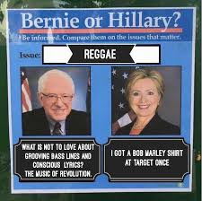 Reggae Meme - reggae bernie or hillary know your meme