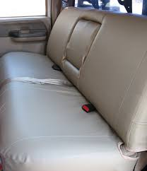 2007 Ford E150 Solid Bench Rugged Fit Covers Custom Fit Car Covers Truck