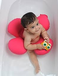 papillon baby bath tub ring seat pink health