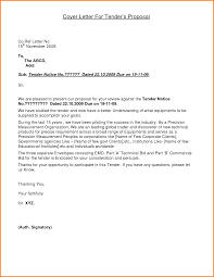 Business Letter Enclosure by 11 Example Of A Tender Letter Quote Templates