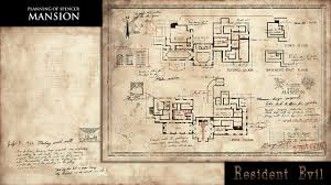 Floor Plan Mansion Resident Evil Producer Gives U201cthank You U201d Spencer Mansion Floor Map