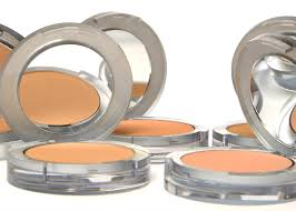 4 in 1 pressed mineral makeup foundation with skincare ingredients