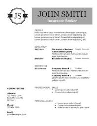 Free Printable Resume Samples by 10 Best Creative Resume Templates Images On Pinterest Creative