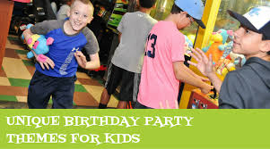 party themes for unique birthday party themes for kids pin chasers