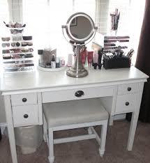 Silver Vanity Table Bedroom Vanity Desk Silver Makeup Vanity Makeup Desk With Mirror