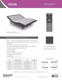 amazon com new leggett u0026 platt falcon adjustable bed with