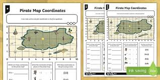 map using coordinates map coordinates differentiated worksheet activity sheets