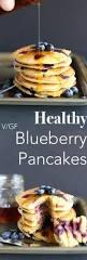 Blueberry Pancake Recipe Healthy Blueberry Pancakes Tworaspberries