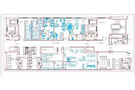 industrial kitchen facilities 2d dwg plan for autocad u2022 designscad