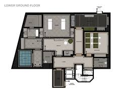 Hotel Guest Room Floor Plans by Catered Ski Chalet Courchevel 1850 Chalet Alpensia 1850 Leo Trippi