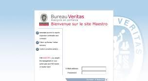 bureau veritas portal access maestro bureauveritas com customer portal
