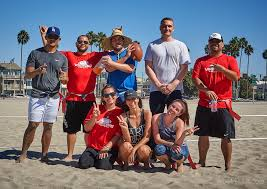Coed Flag Football 8v8 Coed Flag Beach Football League In Long Beach Sunday